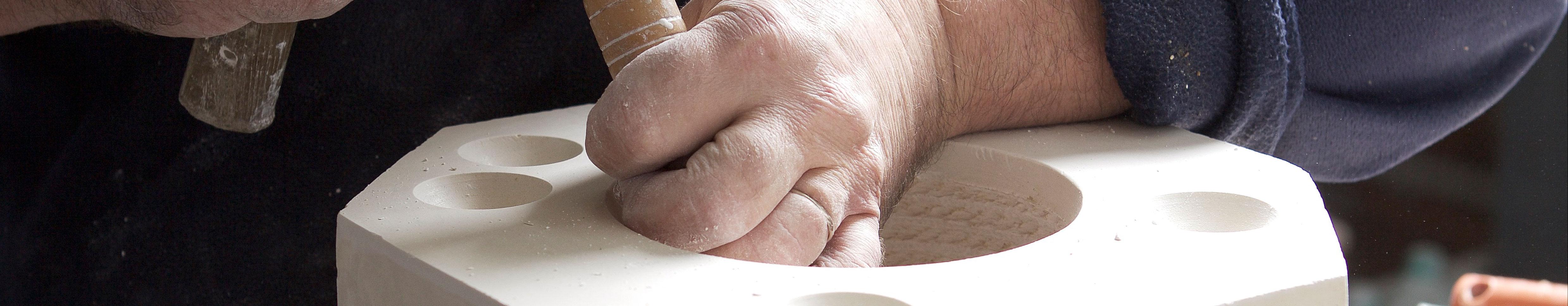modelação de cerâmica